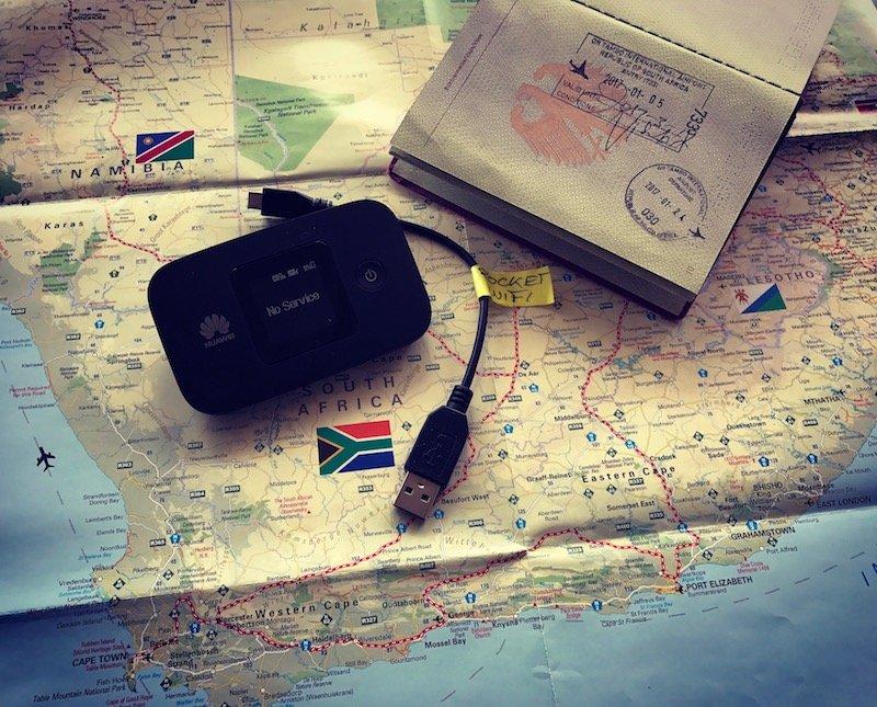 Pocket-Wifi HUAWEI E5377s-32 Mobile WiFi Access Point. Mobiles Internet auf Reisen und im Ausland über Pocket WiFi